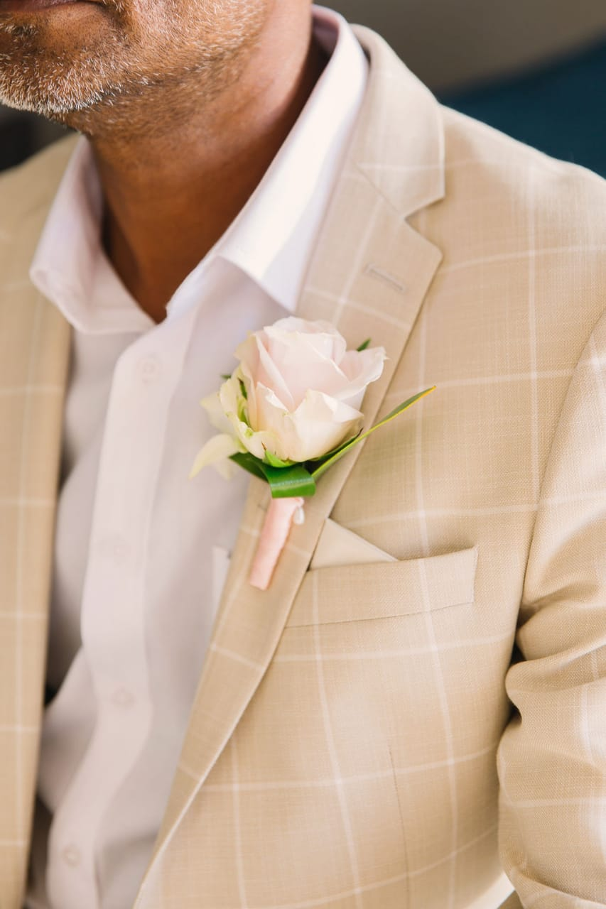 Buttonhole/Chest Corsage/Paige Boy Buttonhole