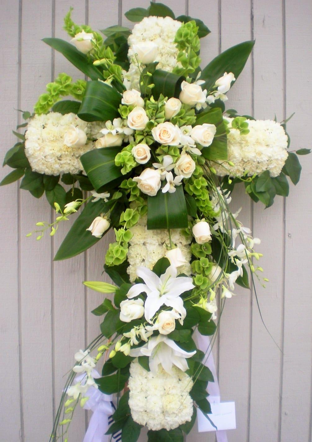Funeral - Cross Arrangement
