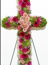 Funeral - Cross Arrangement