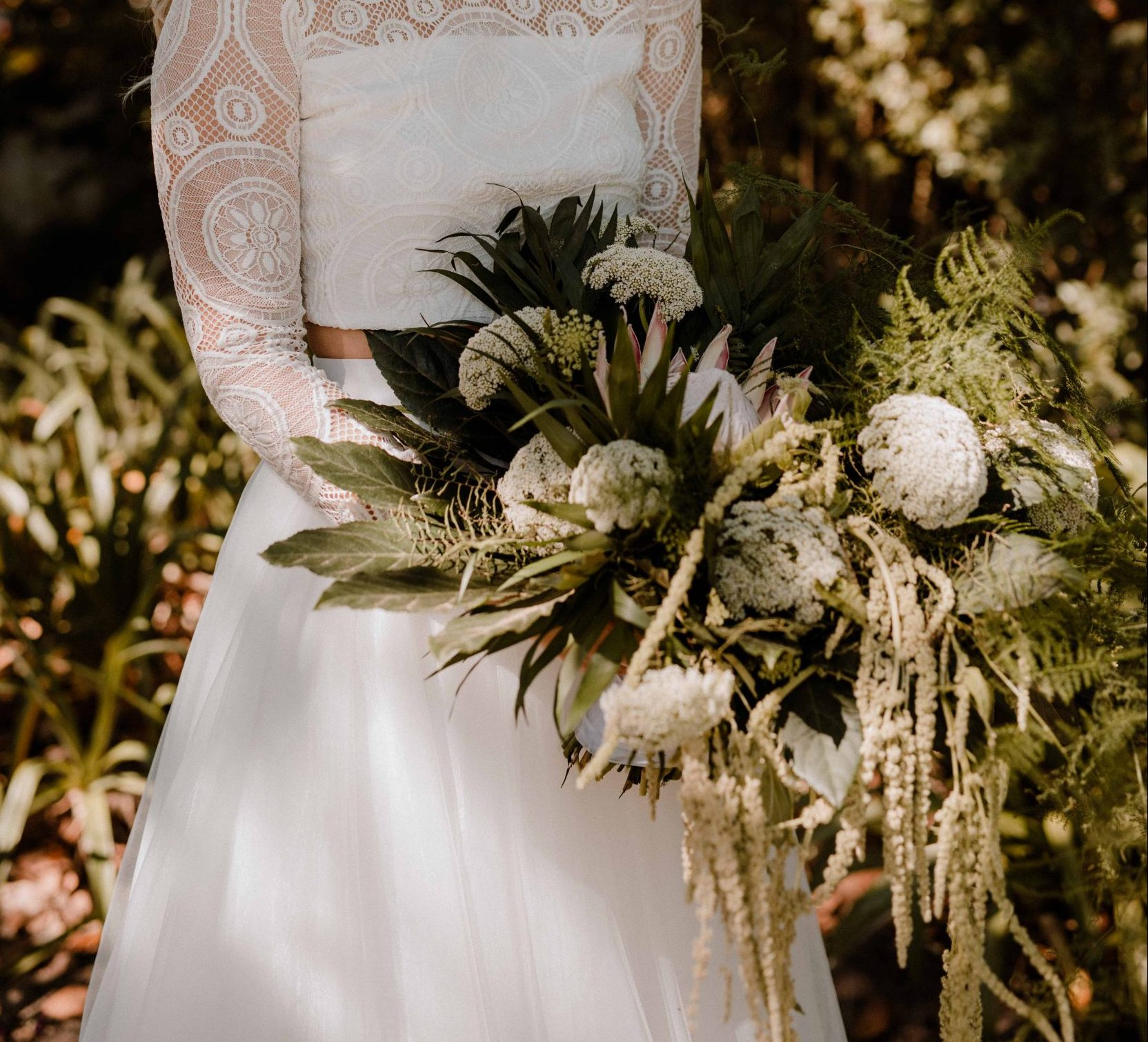 Bridal Bouquet - Hand-Tied Loose