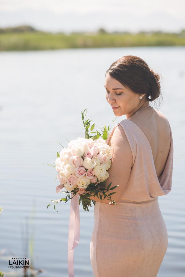 Bridal Bouquet - Tight Round Posy